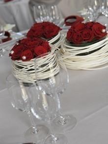 La ferme de labbeville location de salle evenements prives - Decoration florale pour table ...